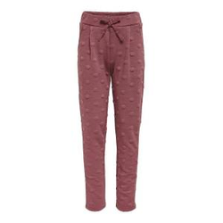 ONLY Loose Fit Sweathose Damen Rot Female 104