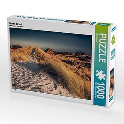 Henne Strand Lege-Größe 64 x 48 cm Foto-Puzzle Bild von diwiesign Puzzle