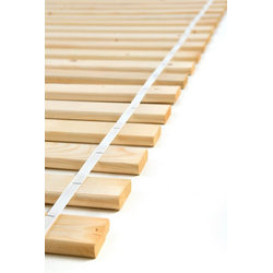 Rollrost, acerto® Lattenrost 90 cm x 200 cm aus Kieferholz massiv, acerto®