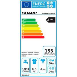 Sharp ES-HFH814AW3-DE