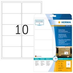 250 HERMA Folien-Versandetiketten 8330 weiß