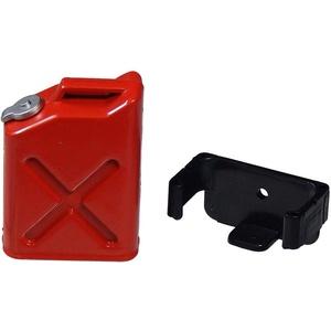 Arkai Benzinkanister Rot mit Halterung