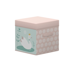 FLEXA Aufbewahrungskiste (1 Stück)  Flexa ¦ rosa/pink ¦ Webstoff (100% Baumwolle)