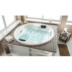 Emotion Whirlpool-Badewanne Whirlpool Saturn Rund Premium