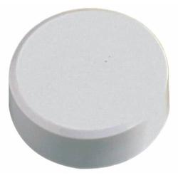 Kraftmagnet 34mm Durchmesser 2kg Haftkraft 20 Stück weiß