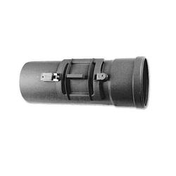 WOLF Revisionsrohr Ø 80 mm aus Polypropylen bis 120° C - 2651510