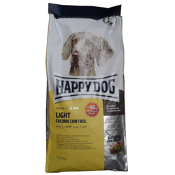 2 x 12.5kg Happy Dog Fit & Well Light Calorie Control Hundefutter