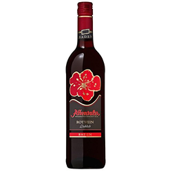 Affental Affentaler Blütenedition Rotwein QbA lieblich 750ml 6er Pack