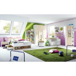 Röhr-Bush Jugendzimmer Shake 347 in Sonoma-Eiche-Optik/weiß