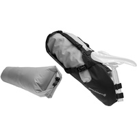 Blackburn Outpost Seat Pack with Drybag grau
