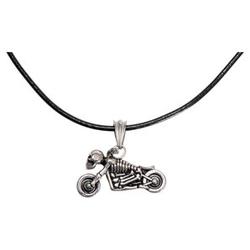 Halskette Bike Skull