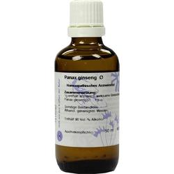 GINSENG Urtinktur D 1 Hanosan 50 ml