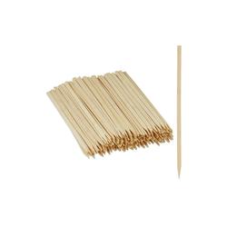 relaxdays Schaschlikspieße Schaschlikspieße Bambus 250er Set