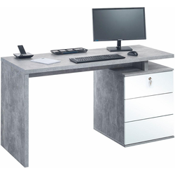 Maja Möbel Schreibtisch grau
