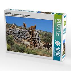 Die Insel Kreta - Städte, Schluchten und Meer Lege-Größe 64 x 48 cm Foto-Puzzle Bild von Anja Frost Puzzle