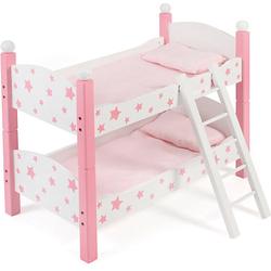 Puppen-Etagenbett pink
