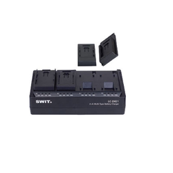 SWIT LC-D421 4-ch Simultaneous Multi-type DV Charger
