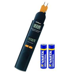 Feuchtigkeitsmesser 0-60% /Thermometer -10 bis +50°C + GRATIS DAZU Batterien