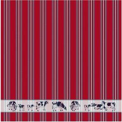 DDDDD Geschirrtuch Friesian, (Set, 6 tlg.) rot Geschirrtücher Küchenhelfer Haushaltswaren