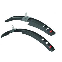 breluxx Schutzblech Fahrrad Steckschutzblech Schutzblech Set 16-20 Zoll MTB - Mississipi black (2 St)