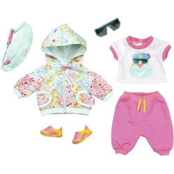 Baby Born Puppenkleidung Play & Fun Deluxe Fahrrad Outfit