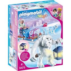 Playmobil® Spielfigur PLAYMOBIL® 9473 Schneetroll mit Schlitten