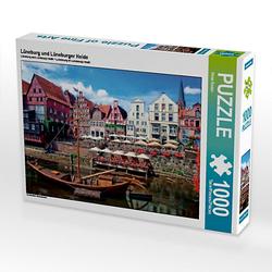 Lüneburg und Lüneburger Heide Lege-Größe 64 x 48 cm Foto-Puzzle Bild von Peter Roder Puzzle