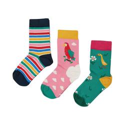 frugi Socken Socken für Mädchen, Organic Cotton 35-38