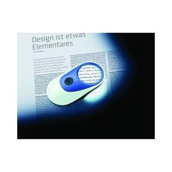 Eschenbach Optik Standlupe LED Leuchtlupe Powerlux 14D/3.5x 8000K