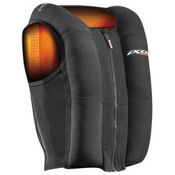 Ixon IX-Airbag U03 Airbag Weste, schwarz-orange, Größe 2XL