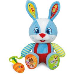 Clementoni® Kuscheltier Lilo das Kaninchen, mit interaktiver Karotte