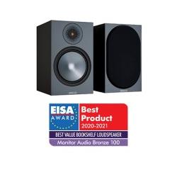 Monitor Audio Bronze 100 Regallautsprecher grau