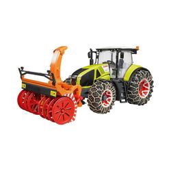 Bruder® Spielzeug-Auto Claas Axion 950 mit Schneeketten und Schneefräse