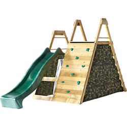 Holz Kletter Pyramide