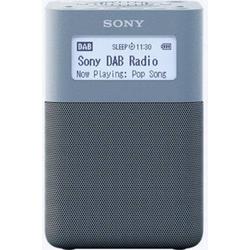 Sony XDR-V20D Radiowecker DAB+, UKW AUX Blau