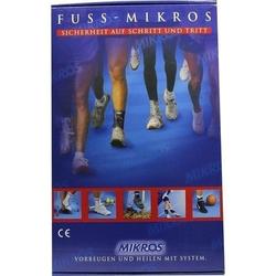 MIKROS Fußbandage NV M 1 St.
