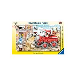 "Ravensburger Puzzle ""Mein Bagger""  15 Teile"
