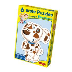 Haba Puzzle Erstes Puzzle Haustiere 13-tlg., 12 Puzzleteile