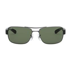 Ray-Ban 0RB3522 004/71 Metall Rechteckig Grau/Grau Sonnenbrille, Sunglasses   0,00   0,00   0,00