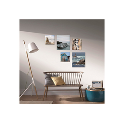 Art for the home Bild Strand, Strand (5 Stück)