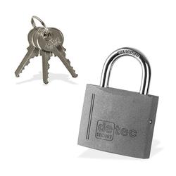 Vorhängeschloss / Bügelschloss / Sicherheitsschloss VS60 mit 3 Schlüssel
