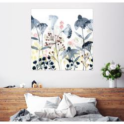 Posterlounge Wandbild, Mehrschichtige Gärten I 100 cm x 100 cm