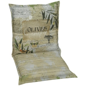 GO-DE Auflage  Olives ¦ grün