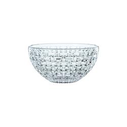 Nachtmann Vorratsdose Bossa Nova Schale 23 cm mit Silikondeckel, Kristallglas, (1-tlg)
