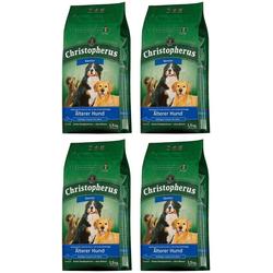 Christopherus Trockenfutter Älterer Hund, 4 Beutel á 1,5 kg