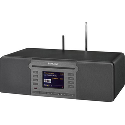 Sangean Revery R6 Internet CD-Radio DAB+, UKW AUX, Bluetooth®, CD, NFC, SD, USB, WLAN, Internetradi