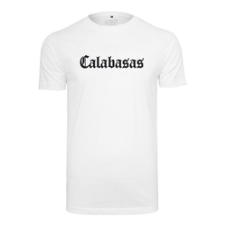 MisterTee T-Shirt Calabasas Tee weiß XXL