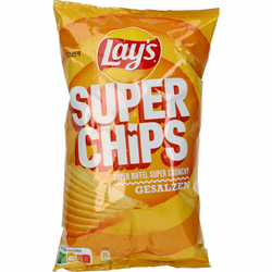 Lay´s Super Chips gesalzen 175g