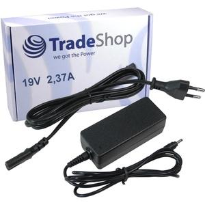 Notebook Laptop Netzteil Ladegerät Ladekabel Adapter 19V/2,37A inkl. Stromkabel für Asus Taichi 21 Taichi 31 VivoBook F102 F200 F201E Q200 Q200E S200 S200E S220 X102 X200 X200CA X200T X201 X201E X202 X202E