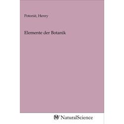Elemente der Botanik als Buch von